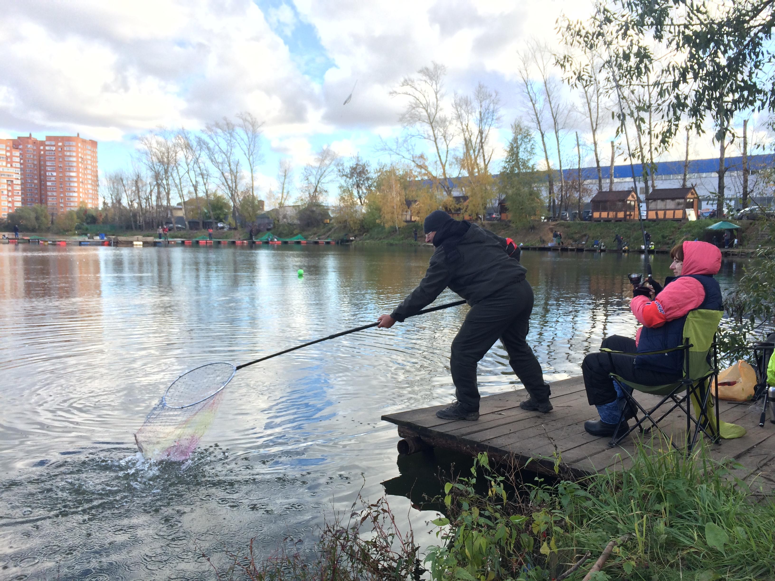 Рыбалка в КРХ «Белая дача»